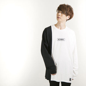 /////2019 SPRING COLLECTION先行予約商品/////   Crosscut Longsleeve T-shirt White