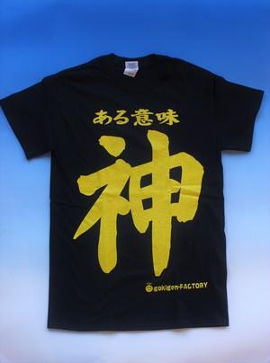 おもしろTシャツ「ある意味神」 ☆送料無料☆