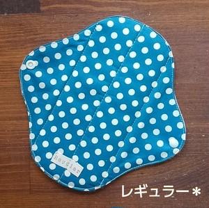 布ナプキン (レギュラー) ☆ ブルードット柄