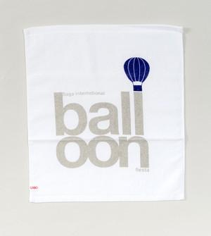 ロゴballoon ハンドタオル