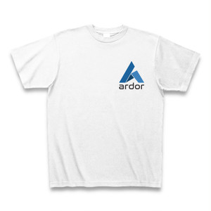 Ardor T-shirt (White/small logo)