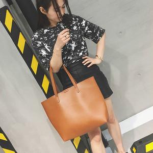 【バッグ】新作シンプルビッグバッグ通勤OLトットバッグ
