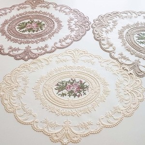 lace flower table mat 5colors / レースマット