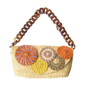 トロピカルバッグ Col.1 / Tropical Basket Bag Col.1