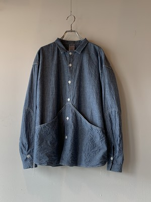 allinone SMOCK GROWTH CHAMBRAY