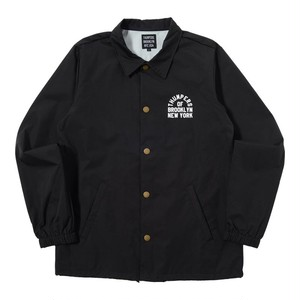 ADD COACHES JACKET (BLACK) [TH-17AW-082]