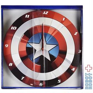 マーベル キャプテンアメリカ シールド 壁掛け 時計