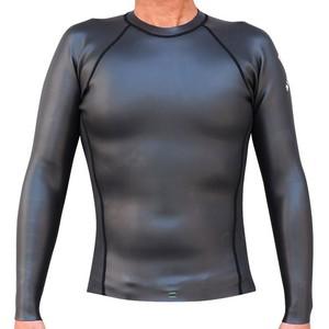 "1mm Thin Skin ""Back Zip Jacket"" WHITE LOGO"