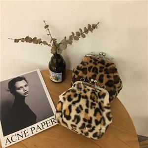 レオパードがま口バッグ 【leopard Purse bag】