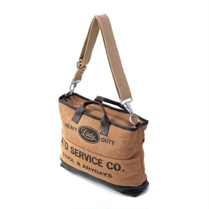 AT-DIRTY(アットダーティー) / ATD TOOL BAG (BROWN)