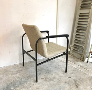 Dutch Modern Metal Frame Easy Chair オランダ