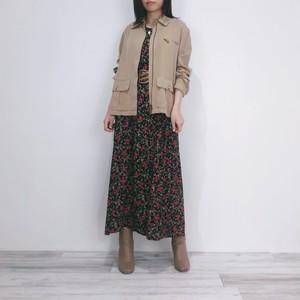 ◼︎90s LAUREN herringbone silk blend jacket from U.S.A.◼︎