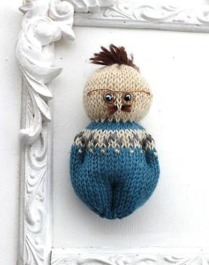 編みぐるみ おヒゲのおじさま