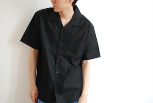 【Unisex】Don't Try Open Collar s/s Shirt