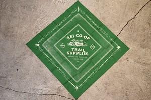 新品 REI printed bandana made in USA G0227