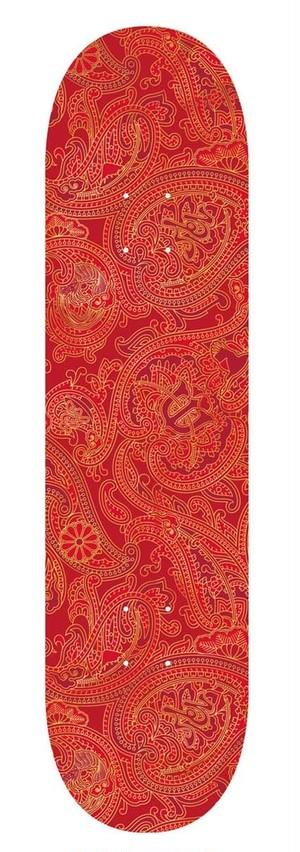 EVISEN  PAISLEY RED 8.125 エビセン