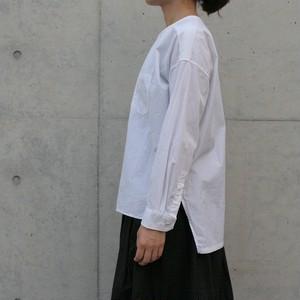 universal tissu / バンドカラー シャツ