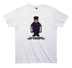 《山本周司Tシャツ》TY008/  TATTOO POLICEMAN