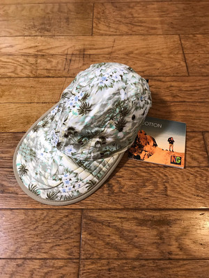 90s Deadstock Nordic Gear cap made in USA Hawaiian brown
