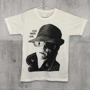 【送料無料 / ロック バンド Tシャツ】 LOU REED / Lou Reed Live Men's Ladies' Unisex T-shirts M ルー・リード / ルー・リード・ライブ メンズ レディース ユニセックス Tシャツ M