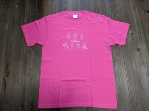 Gattoオリジナル Tシャツ 第6弾ホットピンク