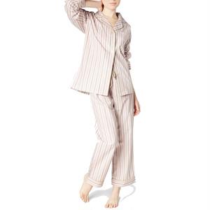 BedHead Pajamas ベッドヘッドパジャマズ レディースコットンパジャマ  Pink Rail Road Stripe