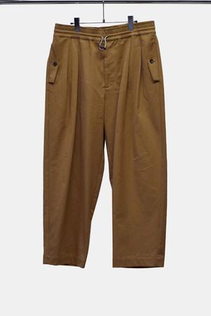 VINTAGE WASH CHINO CLOTH PANTS(BEG)
