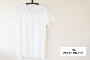 【Sold Out】ホワイトブリーフス|The White Briefs|メンズトップス Tシャツ|EARTH 020(ホワイト)