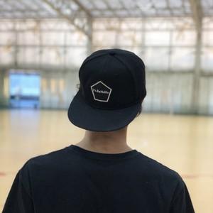 【予約受付中】PENTAGON EMBLEM CAP (BLACK)