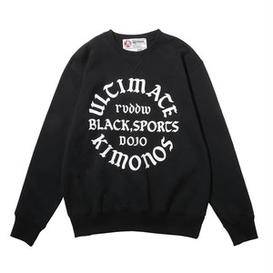 "reversal / リバーサル | 【SALE!!! 20%OFF】 "" ULTIMATE KIMONOS CREW SWEAT "" - Black"