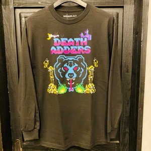 MISHKA : 8-BIT ADDERS L/S TEE /  BLACK