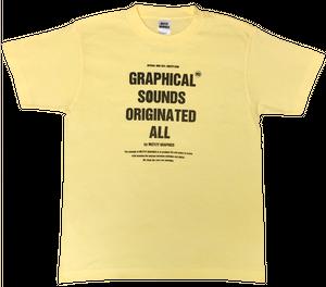 オリジナルTシャツ TYPE.05-A(ライトイエロー)