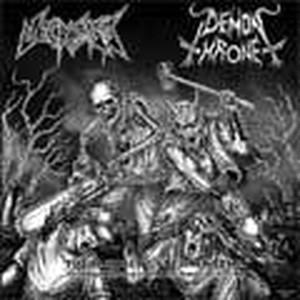 DEMONTHRONE:NECROLISIS/split cd