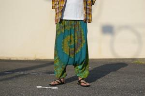 Unisex's / Tie dye sarrouel pants