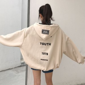 【アウター】BF風ファッション着き心地いいフード付きカーディガン18472873