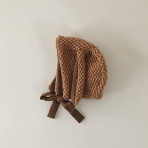 pocopoco rabbit bonnet : chestnuts (size L,XL)