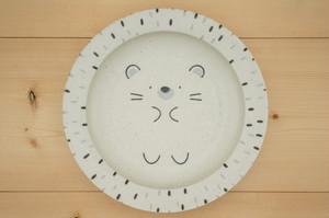 パスタ・カレー皿(モグモグ/ハリネズミ)