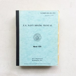U.S. Navy Diving Manual March 1970
