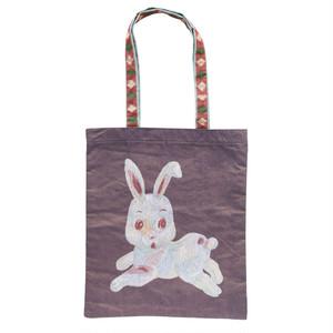 Nathalie Lete Tote Bag Rabbit