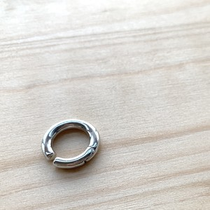 simple circle metal Ear cuff  シンプルサークルメタルイヤーカフ #SP0213【STELLAPARK】