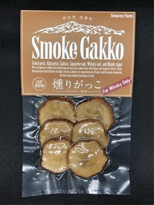 SmokeGakko(ウイスキー専用)【LIGHT MEDIUM】 6枚入り 1袋  無添加