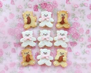 【テディベア・くまちゃん】アイシングクッキー
