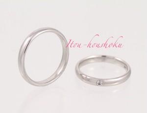 【カープ優勝記念SALE】鍛造製法で作るPT900結婚指輪ストレート