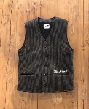 【GANGSTERVILLE】THUG - BEACH VEST  BROWN