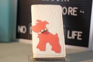 スライド式スマホケース iPhone6、7、8サイズ手帳型ケース(クロコ型押しホワイト×ピンク)