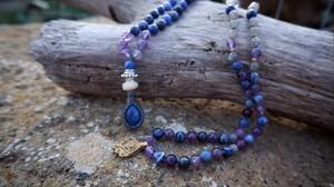 R様専用 : Japa mala : lapis lazuli × labradorite × sodalite