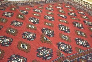 赤を基調とした王様キリム #1200-0842 168x111