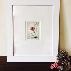 銅版画「his Rose」