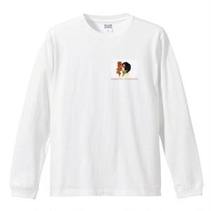 【受注販売・4月上旬お届け予定】伊藤万理華コラボレーション ロングスリーヴTシャツ(flower)