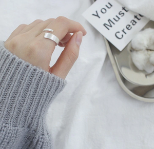 925 silver freehand ring シルバー925 変形 フリーハンド リング